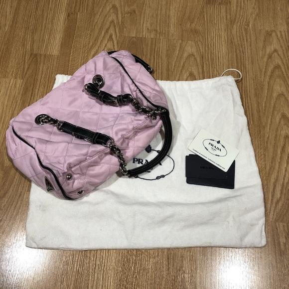 74066bde012 closeout fashion prada top handle bag 546a8 89025  sweden prada pink handbag  designer barbie purse. m5b4431bf1b329483dd45b523 feeac b2f4a